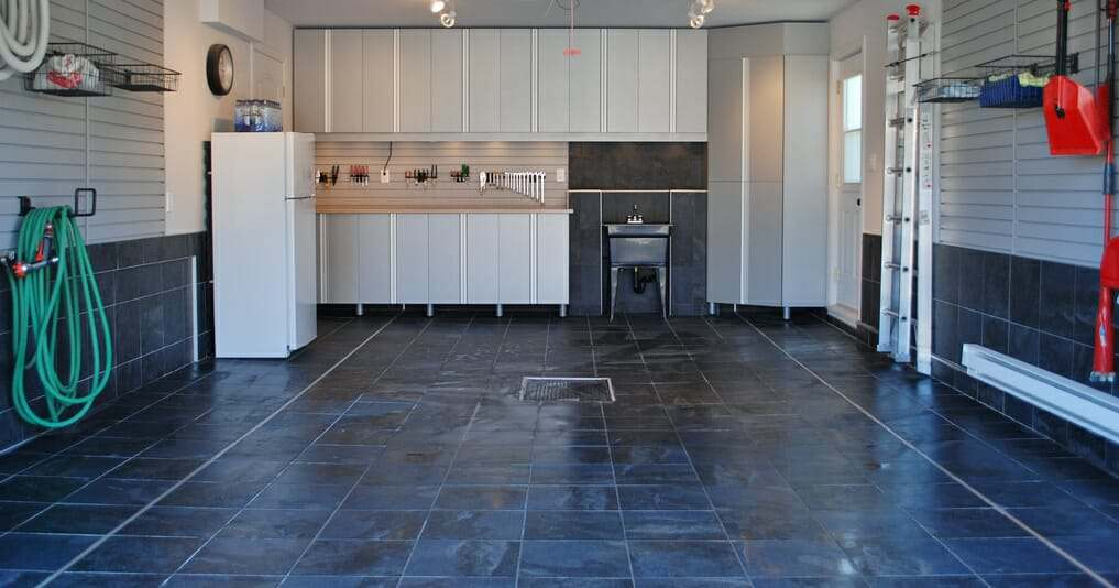 porcelain garage floor tiles Choosing Garage Floor Tiles  Best Options to the Cheapest All