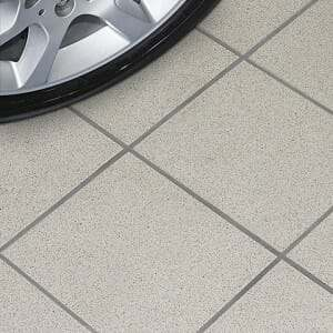 best garage flooring - porcelain