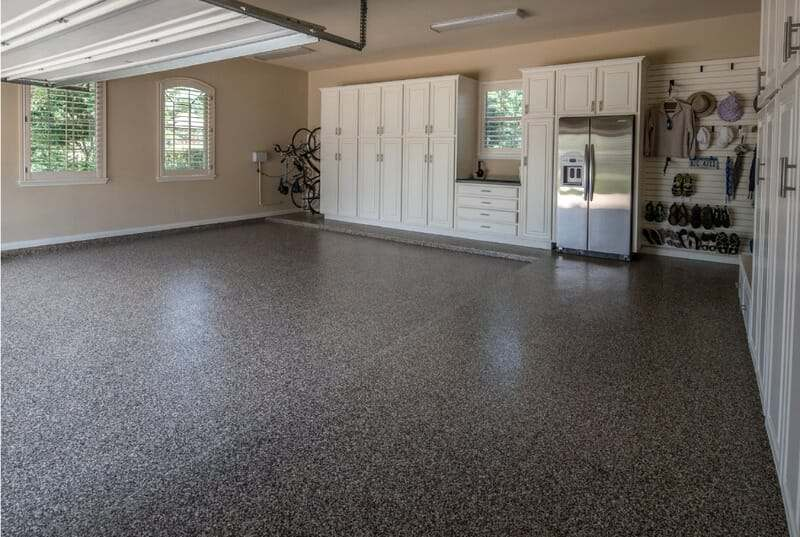 the benefits of epoxy garage floor coatings all garage. Black Bedroom Furniture Sets. Home Design Ideas