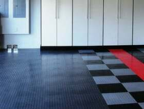 plastic garage floor tile