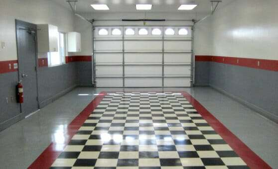 Skill requirements for diy garage floor installations all garage vct tile garage flooring solutioingenieria Images