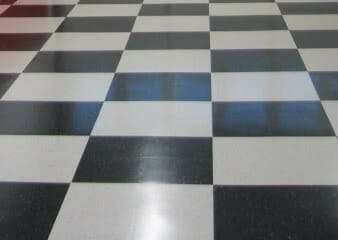 vinyl composite garage floor tile VCT