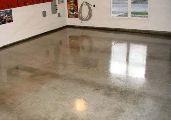 acrylic sealer for garage floor