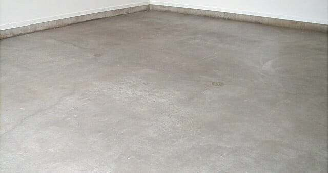 penetrating sealer on garage floor
