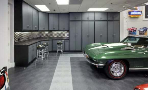 choosing garage floor tiles - best options to the cheapest | all