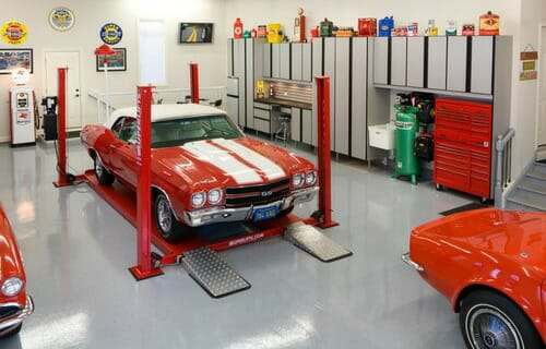 Auto Repair Garage Floor Plans: What Is The Best Garage Flooring To Install For Your