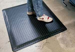 anti-fatigue garage floor mat