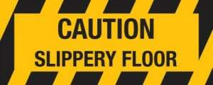 slippery epoxy floors