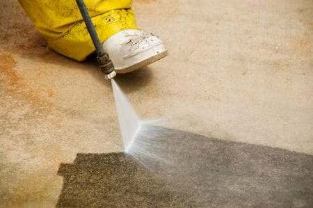 How to clean a concrete garage floor all garage floors for How to clean cement floor