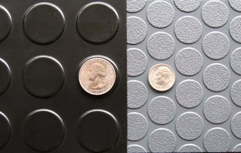 Why G Floor S Small Coin Design Is The Best Garage Mat Yet