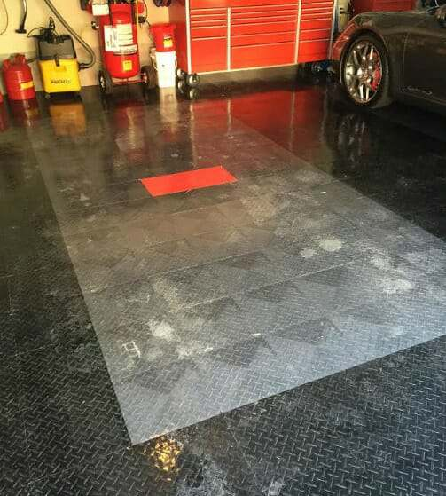 Water Garage Floor: Best Interlocking Garage Tile Design For Snow And Winter