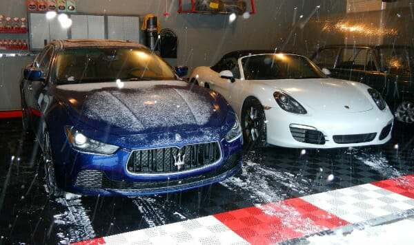 Best Interlocking Garage Tile Design For Snow And Winter