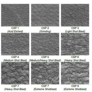 concrete-surface-CSP-chart-floor-coatings