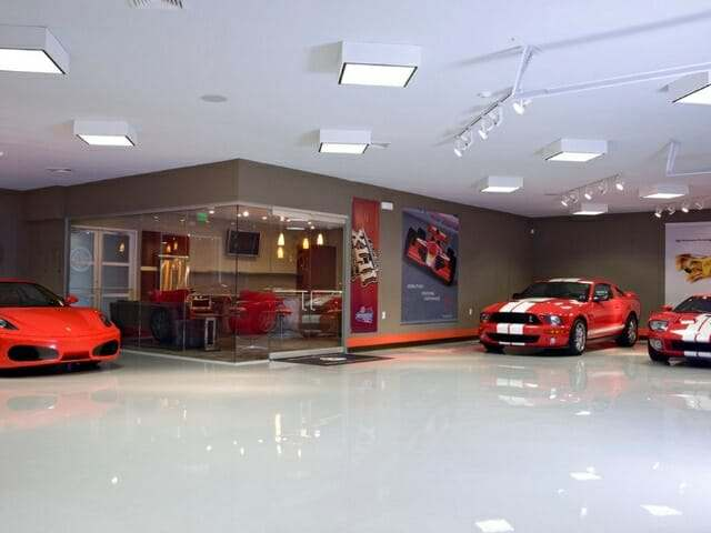 Epoxy garage flooring option