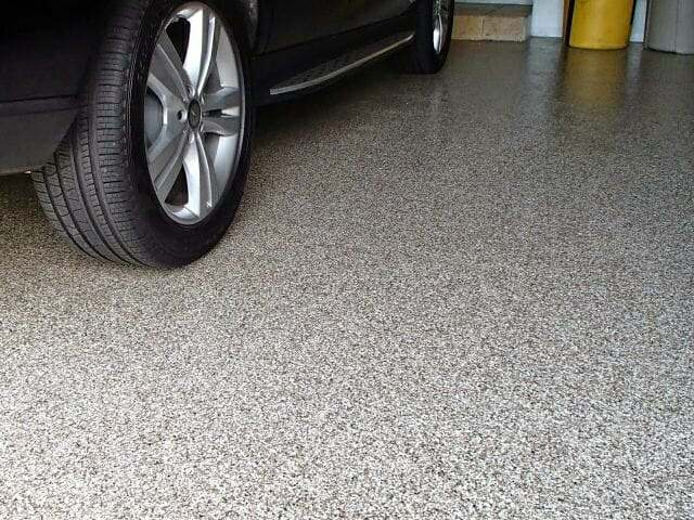 garage floor epoxy with polyurethane