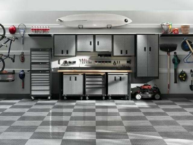 Garage floor gallery and pictures all garage floors interlocking garage floor tile coin design solutioingenieria Images