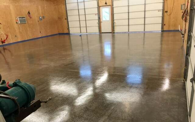 Nohr-S as a clear coat sealer over bare concrete