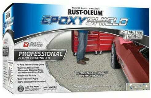 Rust-Oleum Professional garage floor epoxy