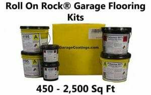 Roll On Rock® Garage Coatings Deliver Performance and Value