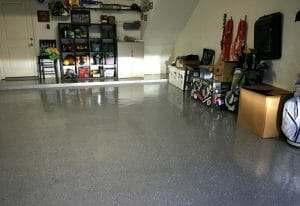 Another Successful Rust Bullet Garage Floor Coating Project