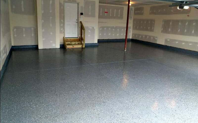 An ArmorPoxy SPGX Garage Floor Coating Install All Garage Floors