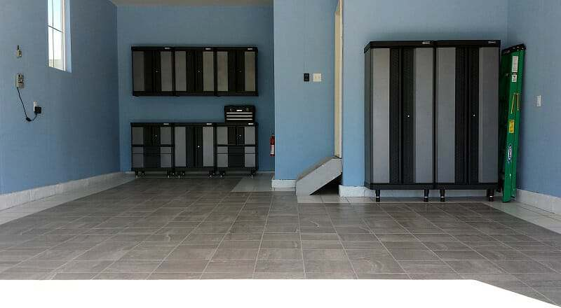porcelain-tile-garage-floor-project