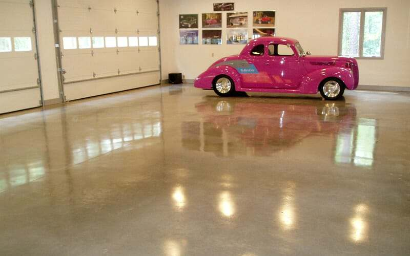 polished-concrete-garage-floor