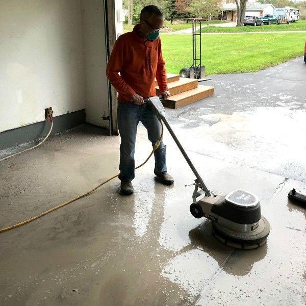 grinding-garage-floor-wet-method
